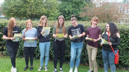 Top performers at Stratton Upper School in Biggleswade.