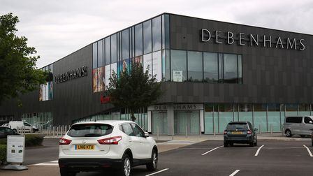 Debenhams in Stevenage will open on August 24, with a Nando's, Patisserie Valerie and a Costa Coffee