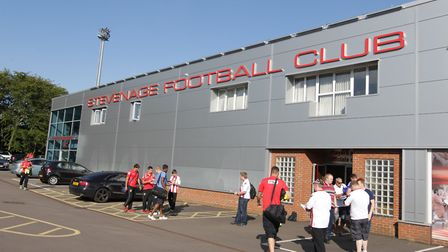 Grimsby Town fans have criticised Stevenage FC after claims female supporters were asked to show sec