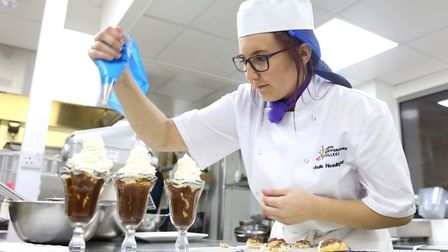 Catering courses at North Hertfordshire College always prove popular. Picture: NHC