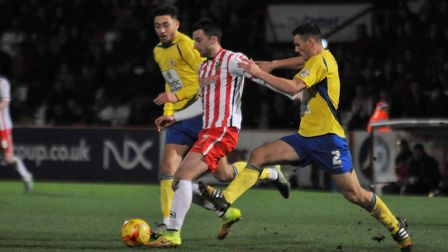 Chris Whelpdale's return to the Lamex took Stevenage's incomings this summer up to nine. Picture: DA