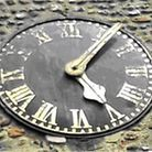 Duxford clock - showing the 'time' for the latest appeal total. Picture: DUXFORD PARISH COUNCIL
