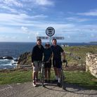 At Lands End: Will and Luci Neville with Ed Wells