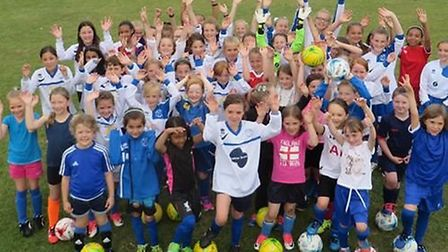 Hitchin Belles FC are a thriving club