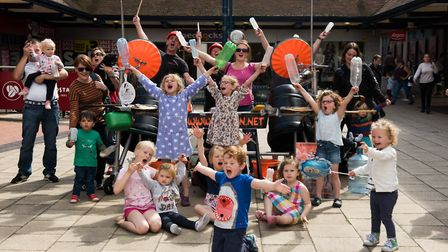 Yeah! These kids enjoyed the show. Picture: Emma Fletcher Photography