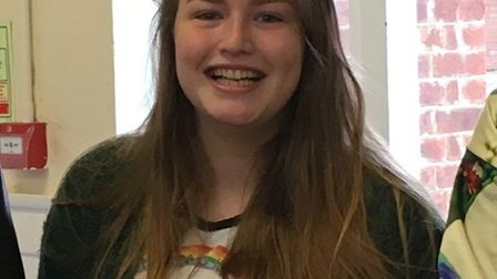 Thomas Alleyne student Chloe Tayler achieved two Bs and a C. Picture: Frances Ross