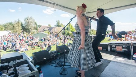 Keechfest will feature live music on 10 September. Image supplied by Keech Hospice Care