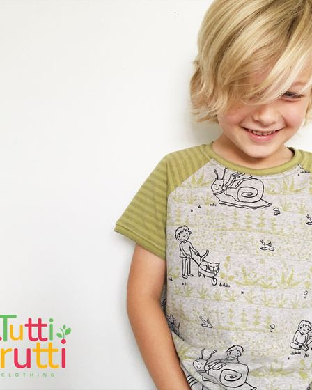 An example of Tutti Frutti Clothing's handmade offer. Picture: Tutti Frutti Clothing