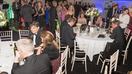 Letchworth photography firm Studio6 enjoy their summer ball in aid of Garden House Hospice Care. Pic