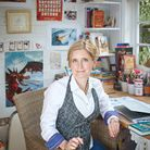 Bestselling author Cressida Cowell, who has a new novel called The Wizards of Once. Picture: Debra H