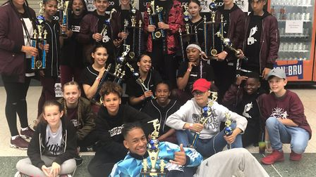 Dancers from Stevenage Warriorz competed in the UDO World Street Dance Championships and came home w