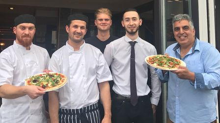 Get down to a Stevenage restaurant to take advantage of their free pizza