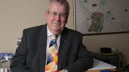 Hitchin town centre manager Keith Hoskins has publicly announced he will be retiring, with the proce