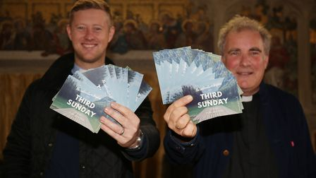 Rev Dan Drew and Canon Michael Roden are launching a new Sunday morning club for families at St Mary