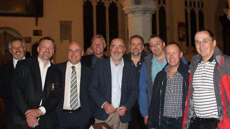 Andrew Weight, Ben Morgan, Paul Linford, Colin Hick, Jeffrey Gray, Nick Franks, Roger Bailey, Nick M