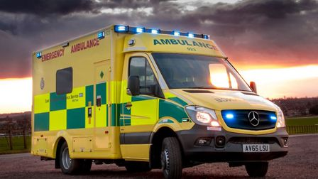 The East of England Ambulance Service was called to Letchworth Garden City this afternoon