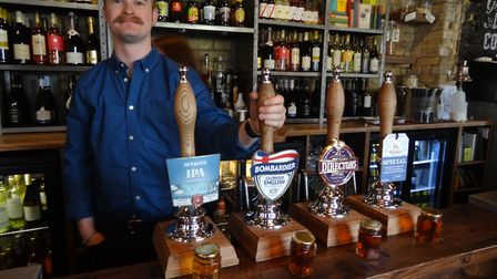 Sam Adams will now be a familiar face at The Radcliffe Arms in Hitchin. Picture: Charles Wells