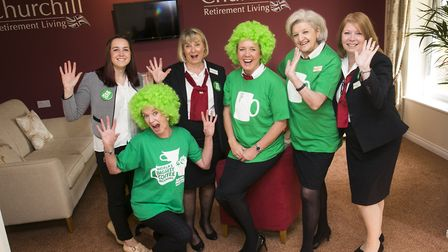 Staff at Churchill Retirement Living are inviting people to join them for Macmillan World's Biggest