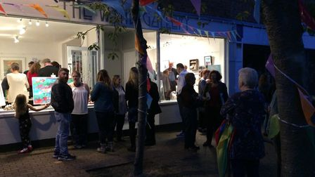 The Wynd Gallery in Letchworth opens on Friday night. Picture: Audrey Imber