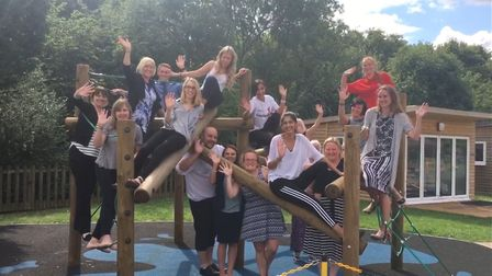 The school achieved 'Outstanding' for the first time in its history. Picture: Round Diamond School