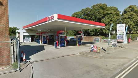 Esso petrol station in Hitchin's Nightingale Road. Picture: Google Street View