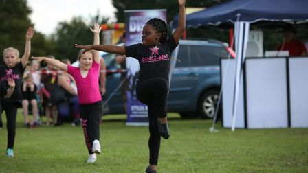 Dance-Beat perform at the Arlesey village fete. Picture: Danny Loo