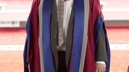 Eddie Veale has recevied an honorary doctorate of letters from the University of West London for his