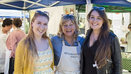 All smiles at the Hitchin Food & Drink Festival 2017. Picture: JAF Milligan