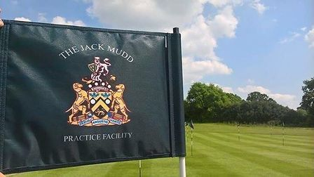 The Jack Mudd Practice Facility. Picture supplied by Knebworth Golf Club