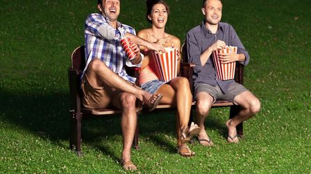 Enjoy open air movies in Stevenage Town Square this weekend. Image supplied by Stevenage Borough Cou