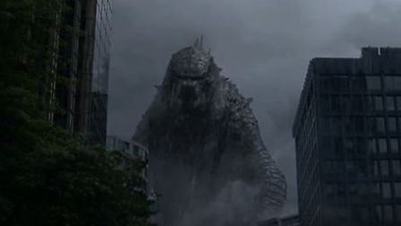 Godzilla will visit Stevenage this weekend - in cinematic form only. Image: screengrab