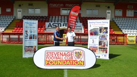 Stevenage FC Foundation and Stevenage-based Sporting Futures Training have formed a partnership to o