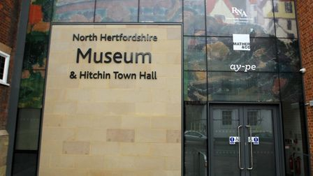 The new North Herts Museum entrance at 14/15 Brand Street in Hitchin. Picture: Harry Hubbard