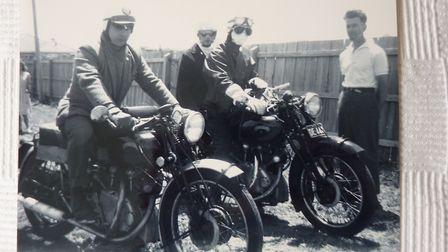 Some of the Vincent machines in action