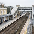 People should to arrive at a station - such as Audley End - before pulling the emergency cord. Pictu