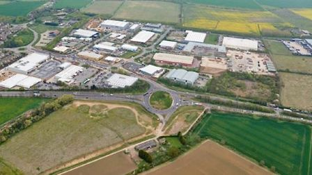 Stratton Business Park in Biggleswade. Picture: Central Beds Council