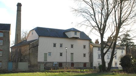 The reconstructed Stotfold Mill. Picture: Stotfold Mill Preservation Trust