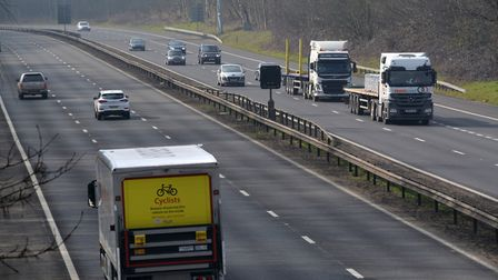 There will be nighttime closures on the A1(M) north of Junction 10