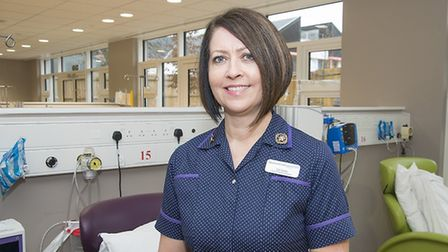 Liz Lees, director of nursing at the East and North Herts NHS Trust. Picture: East and North Herts N