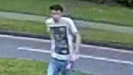 Do you recognise this man? Police want to talk to him after an attempted robbery in Stevenage. Pictu