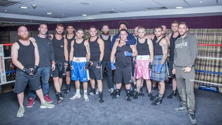 Bill's friends took to the ring to raise funds for the One in a Billiam charity set up by Bill's fam