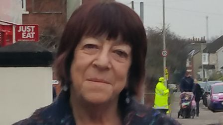 Councillor Judi Billing back home in Hitchin. Picture: Archant