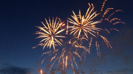 Hitchin is set to have fireworks at the Priory on November 5. File photo. Picture: Alan Davies