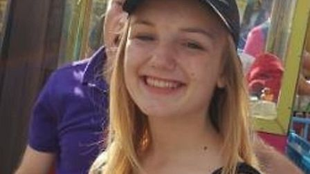 Chloe Hibbard, 15, has been missing since last Wednesday. Picture: Herts police