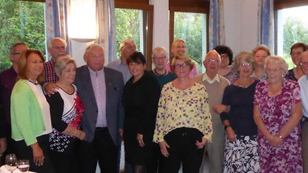 The Bingen and Hitchin twinning committees. Picture: Hitchin Twinning Association