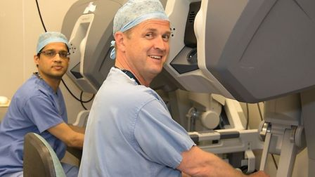 Surgeons at Lister Hospital in Stevenage have perfomed their 1,000th prostate cancer operation using