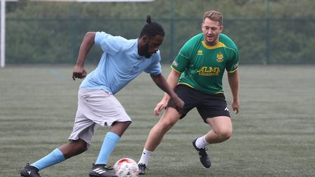 The Haven shelter football team and Hitchin Town FC are partnering up to help the homeless through s