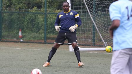 Marc Campbell is joining up with Hitchin Town FC to help the homeless through sport. Picture: Danny