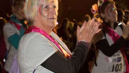 Garden House Hospice threw a starlight walk event. Picture: Andrew Hyde