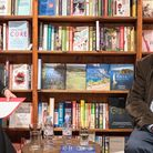 Alexander McCall Smith was interviewed at Harts Bookshop in Saffron Walden by Jo Burch from the Word